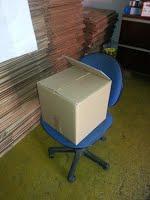 caixas de papel